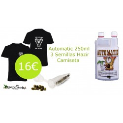 AUTOMATIC + 3 SEMILLAS + CAMISETA
